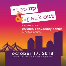 Step Up & Speak Out Benefit Banner Image